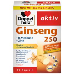Doppelherz® Ginseng 250 + B-Vitamine + Zink