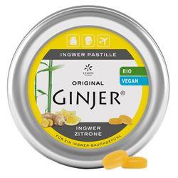 Ingwer GINJER Bio-Pastille Zitrone
