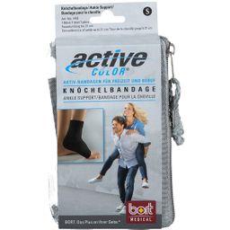 BORT ActiveColor® Knöchelbandage Gr. S schwarz