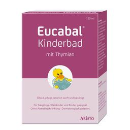 Eucabal® Kinderbad mit Thymian + Bade Ente Eucabal® GRATIS