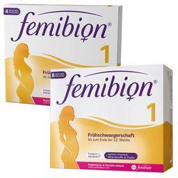 Femibion® 1 Frühschwangerschaft erstes Schwangerschaftsdrittel-Set