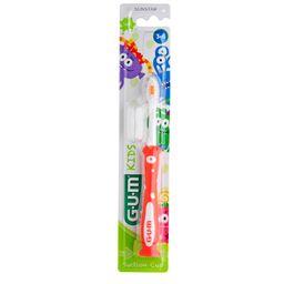 GUM® Kids Zahnbürste Monster 3-6 Jahre (Farbe nicht wählbar)