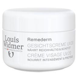 Louis Widmer Remederm Gesichtscreme UV 20 unparfümiert