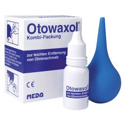 Otowaxol® Kombi-Packung 10ml Lösung + Ohrenspritze