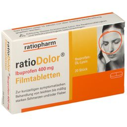 ratioDolor® Ibuprofen 400 mg
