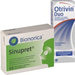 Sinupret® Dragees 50 Tabletten + Otrivin® Nasenspray Duo 10 ml
