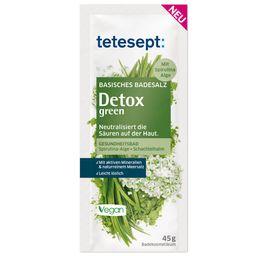 tetesept® Basisches Badesalz Detox green