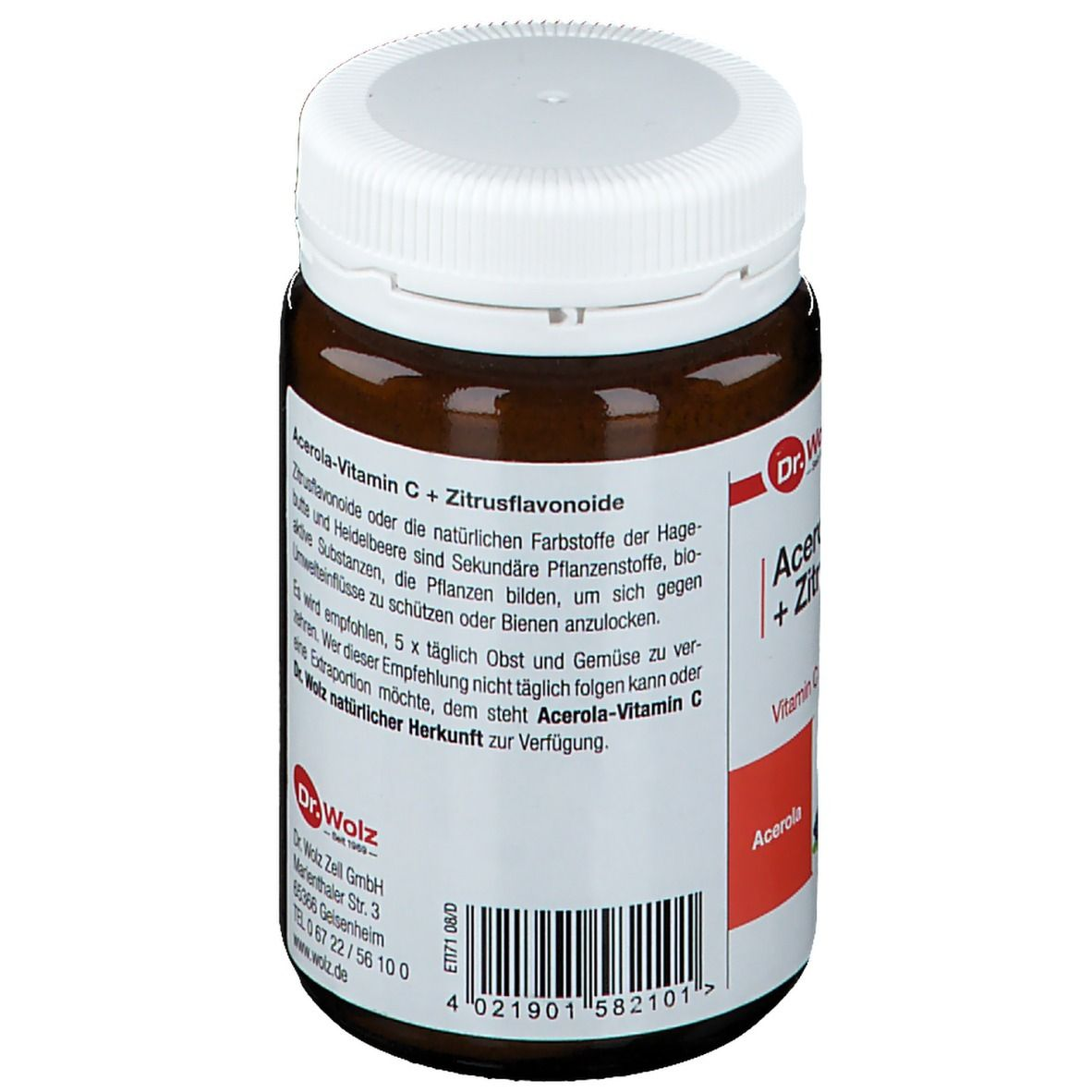 Acerola-Vitamin C + Bioflavonoide