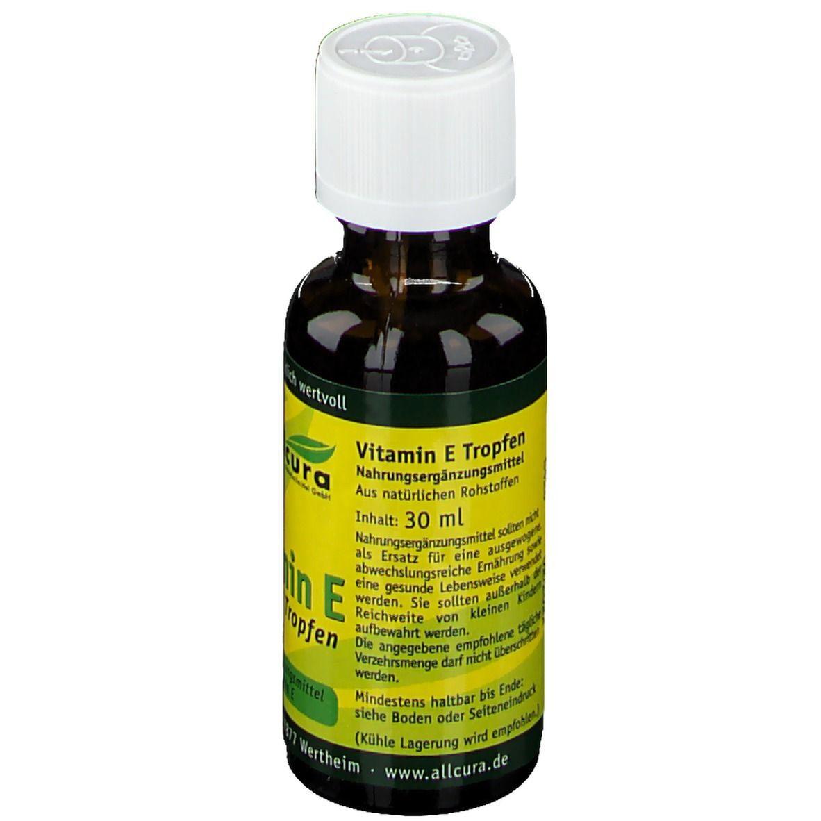 allcura Vitamin E Tropfen