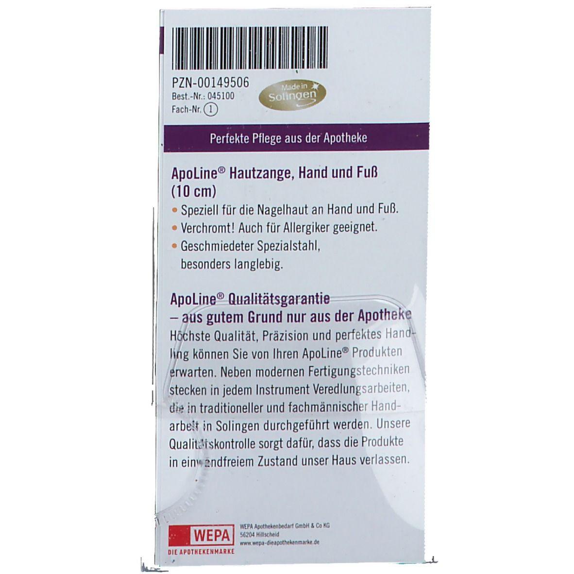 ApoLine® Hautzange 10 cm