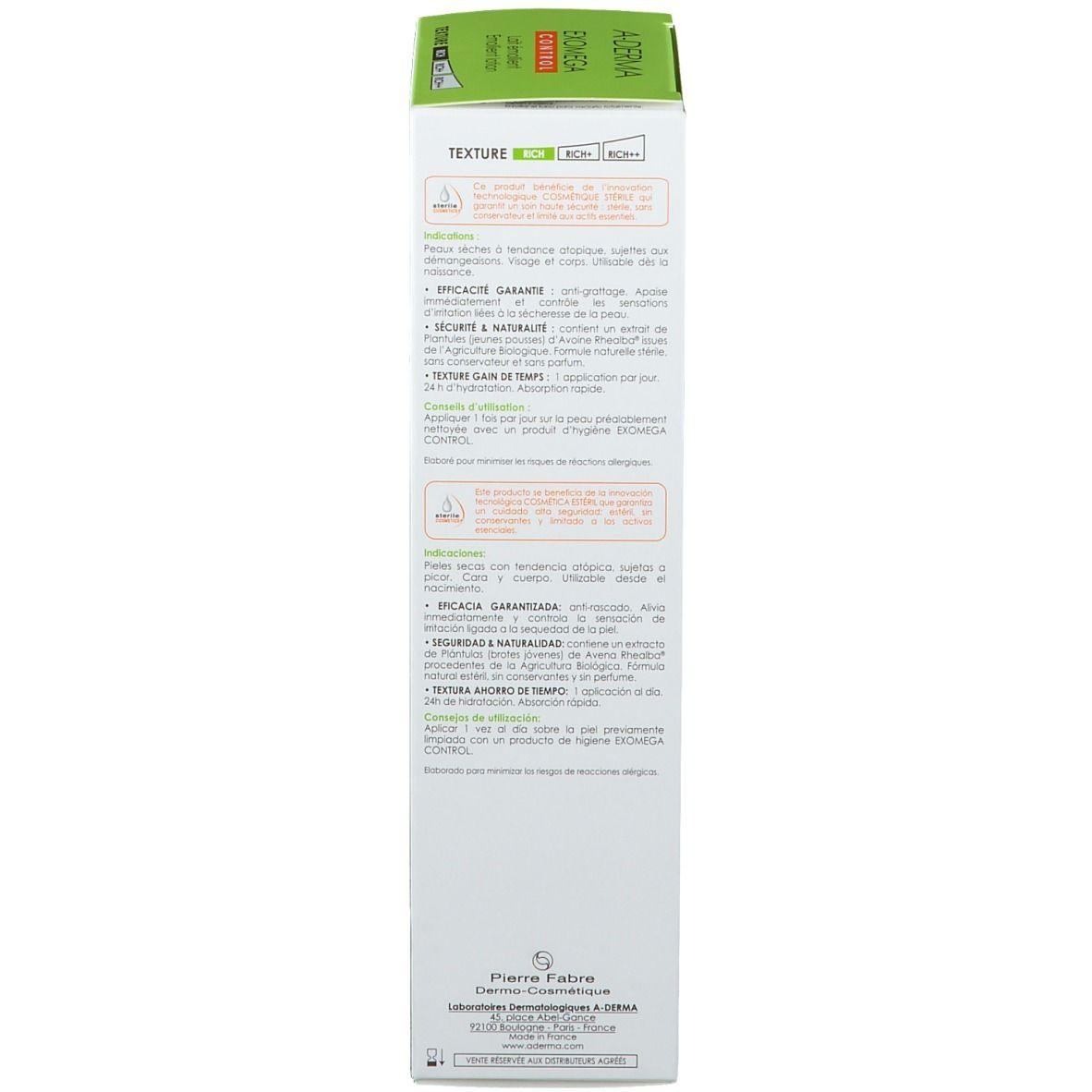 B. EXOMEGA Control Milch Sterile Kosmetik 200 ml