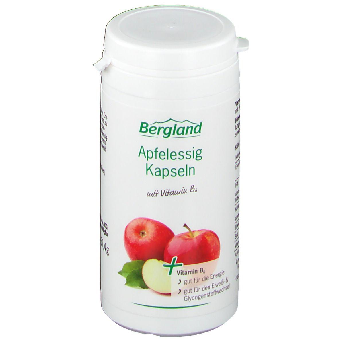 Bergland Apfelessig Kapsel