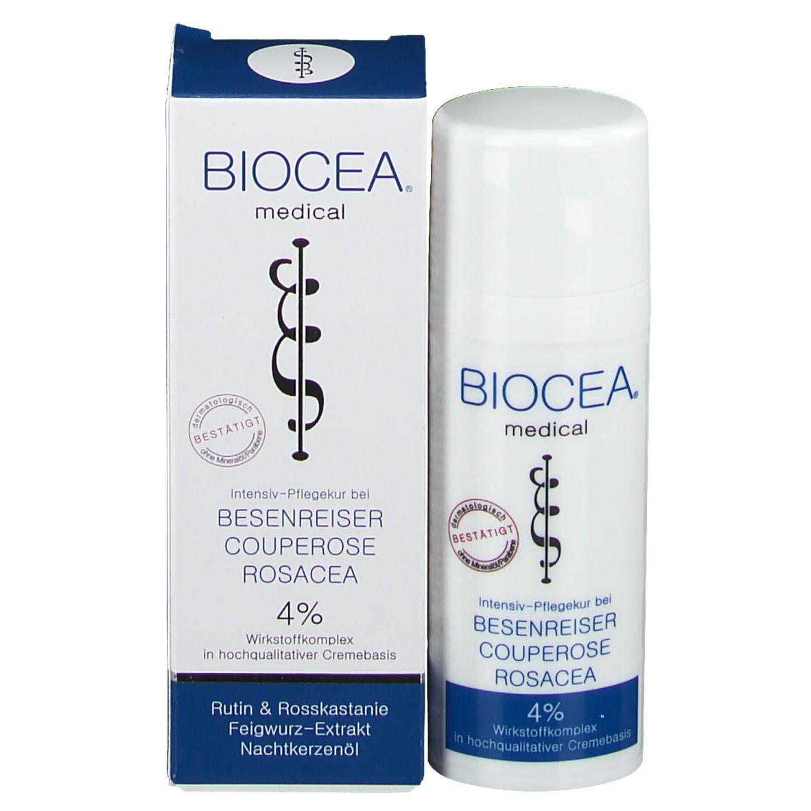 BIOCEA® Couperose Besenreiser Rosacea Creme 30 ml - shop
