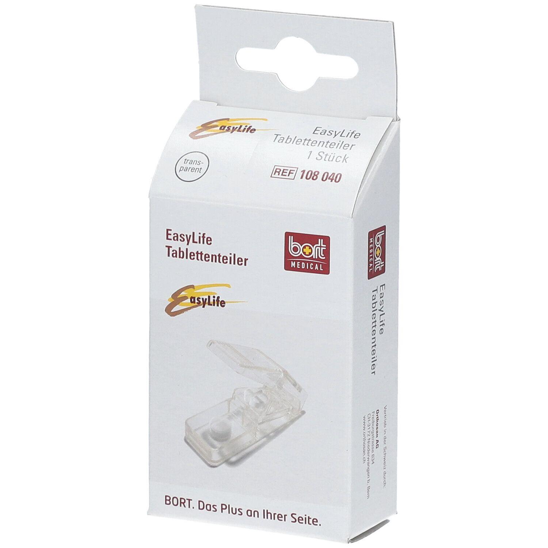BORT EasyLife® Tablettenteiler transparent