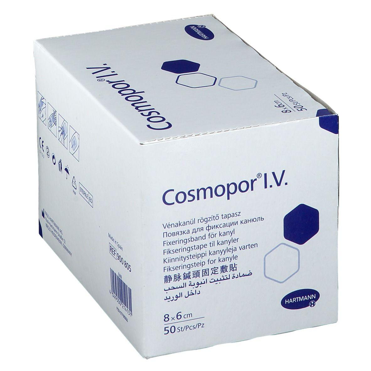 Cosmopor® I.V. 8 x 6 cm