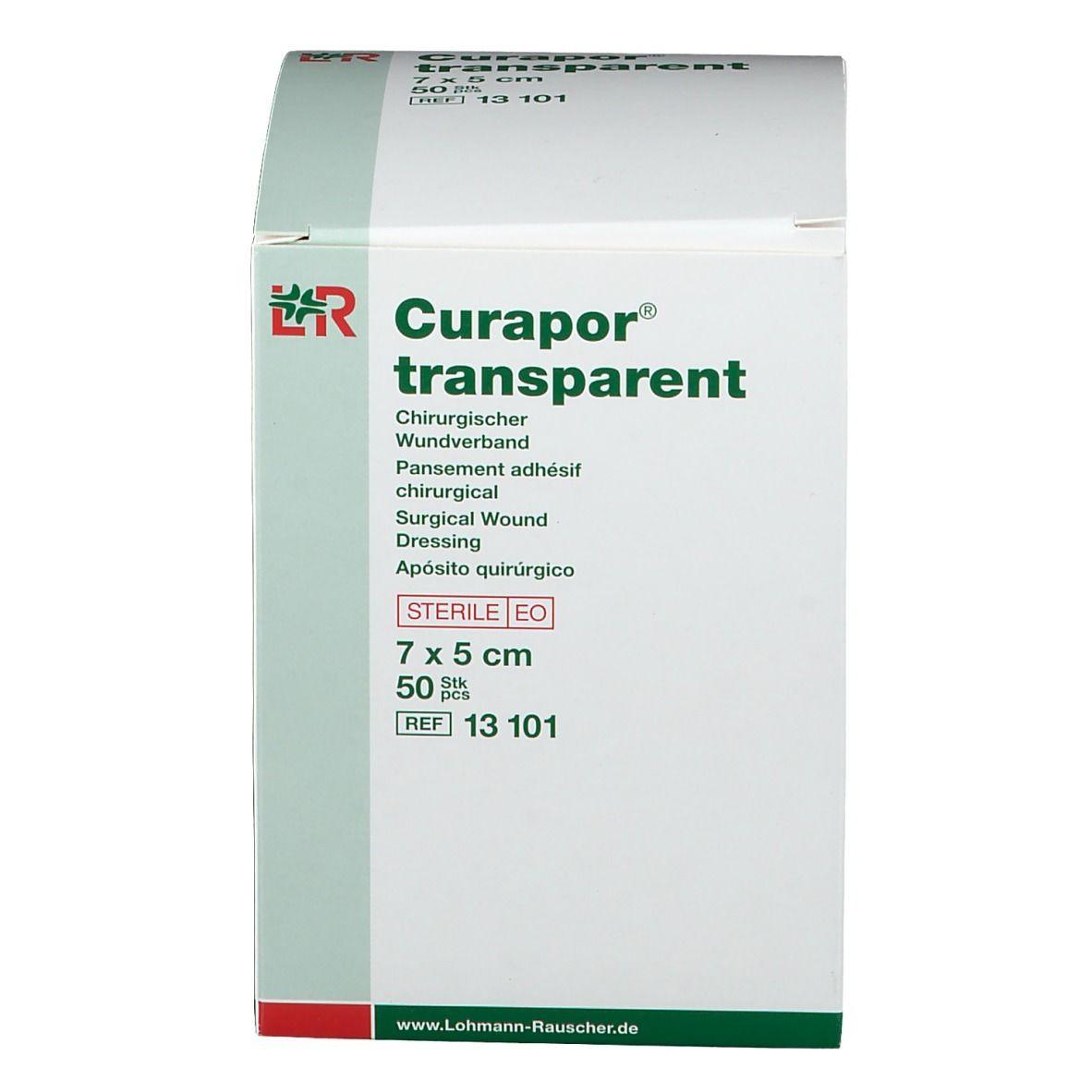Curapor® transparent 5 cm x 7 cm steril