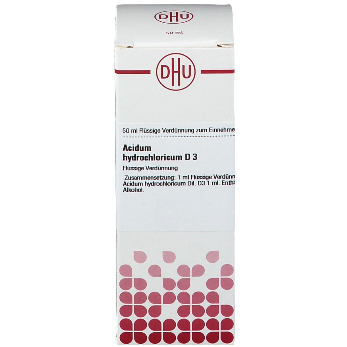 DHU Acidum Hydrochloricum D3