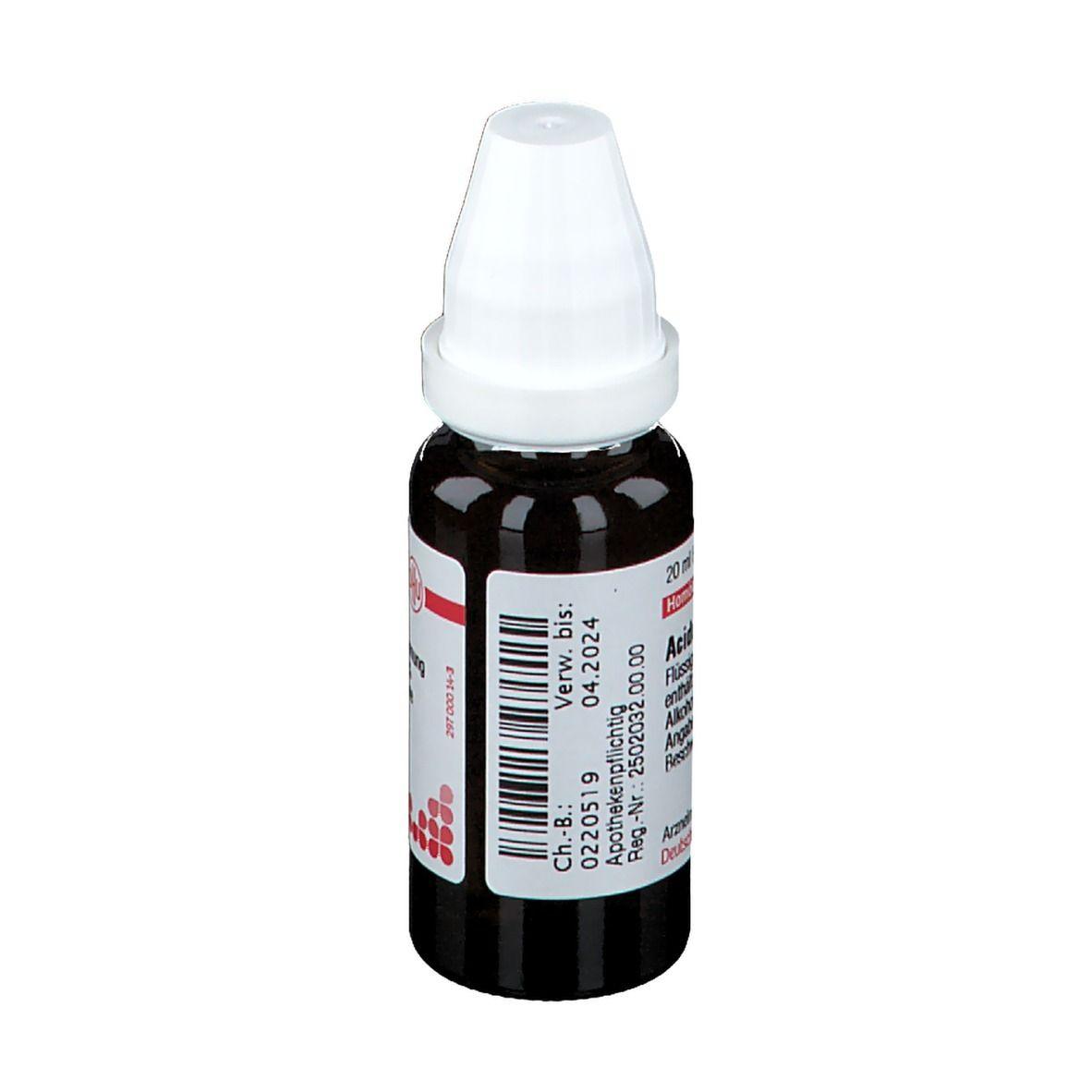 DHU Acidum Hydrofluoricum D6