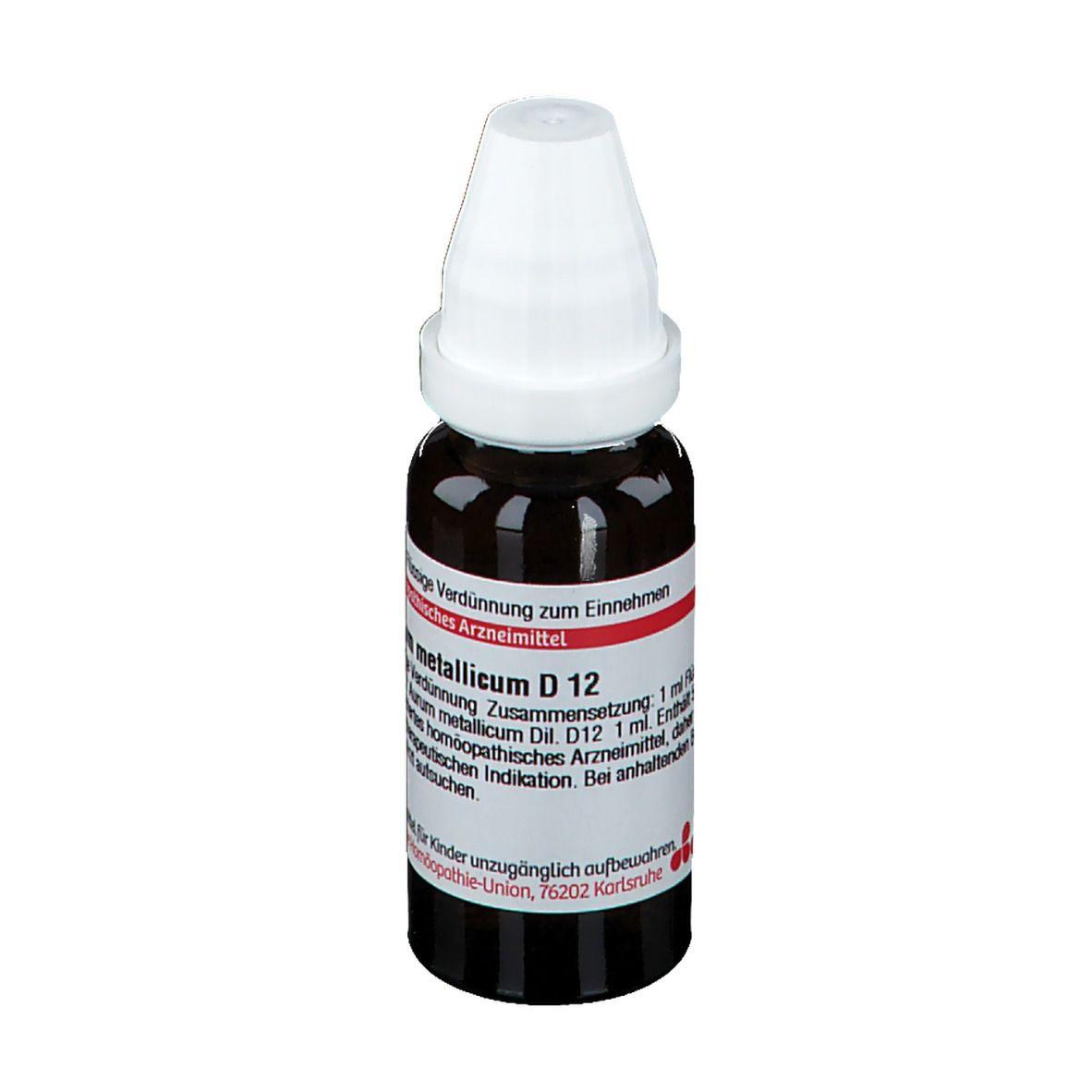 DHU Aurum Metallicum D12