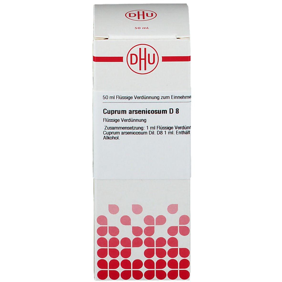 DHU Cuprum Arsenicosum D8