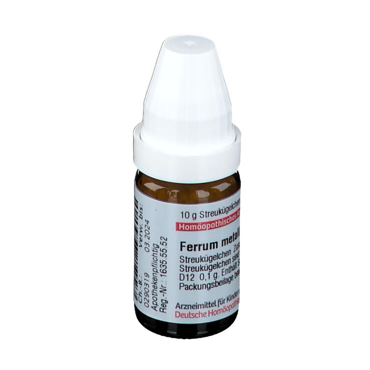 DHU Ferrum Metallicum D12