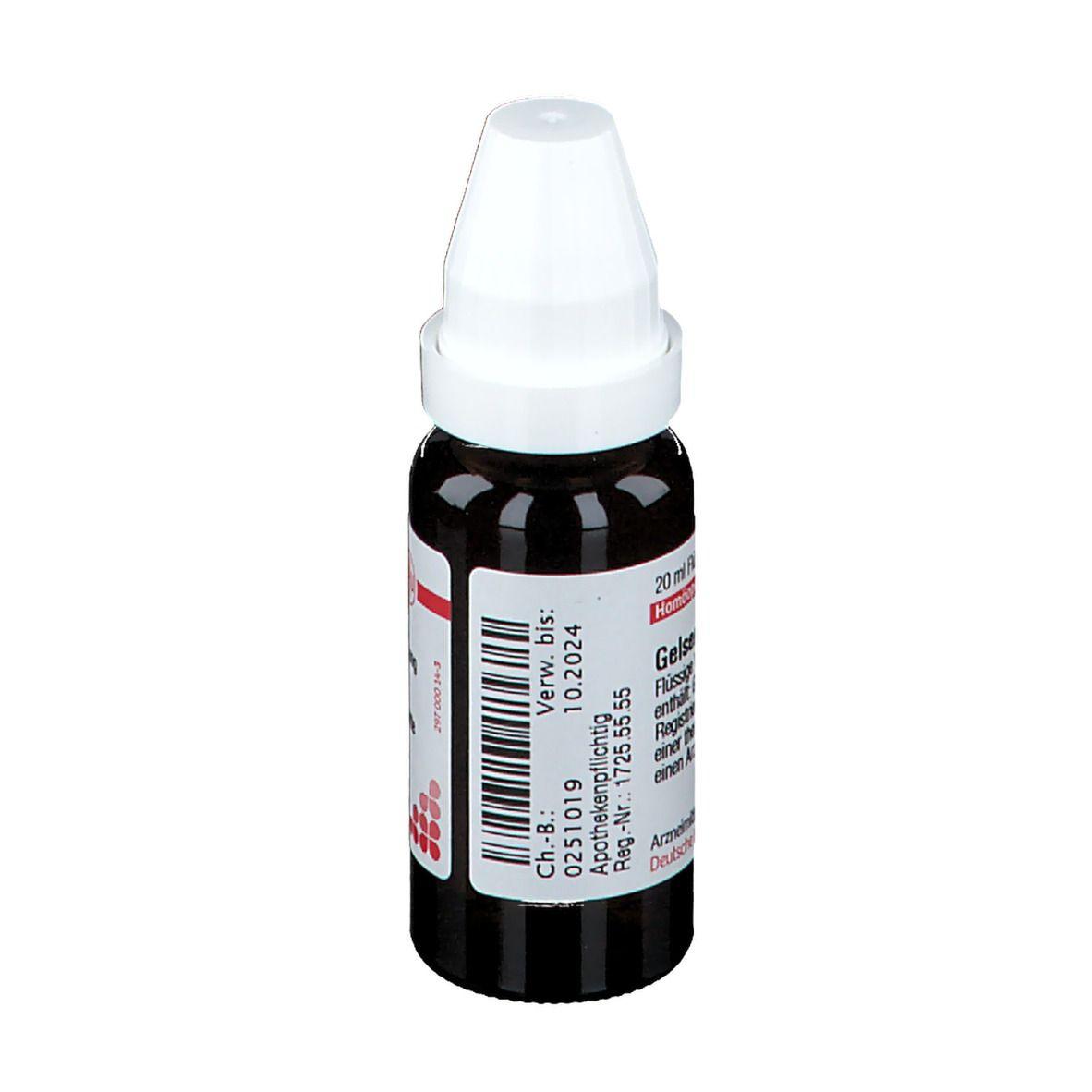 DHU Gelsemium D4