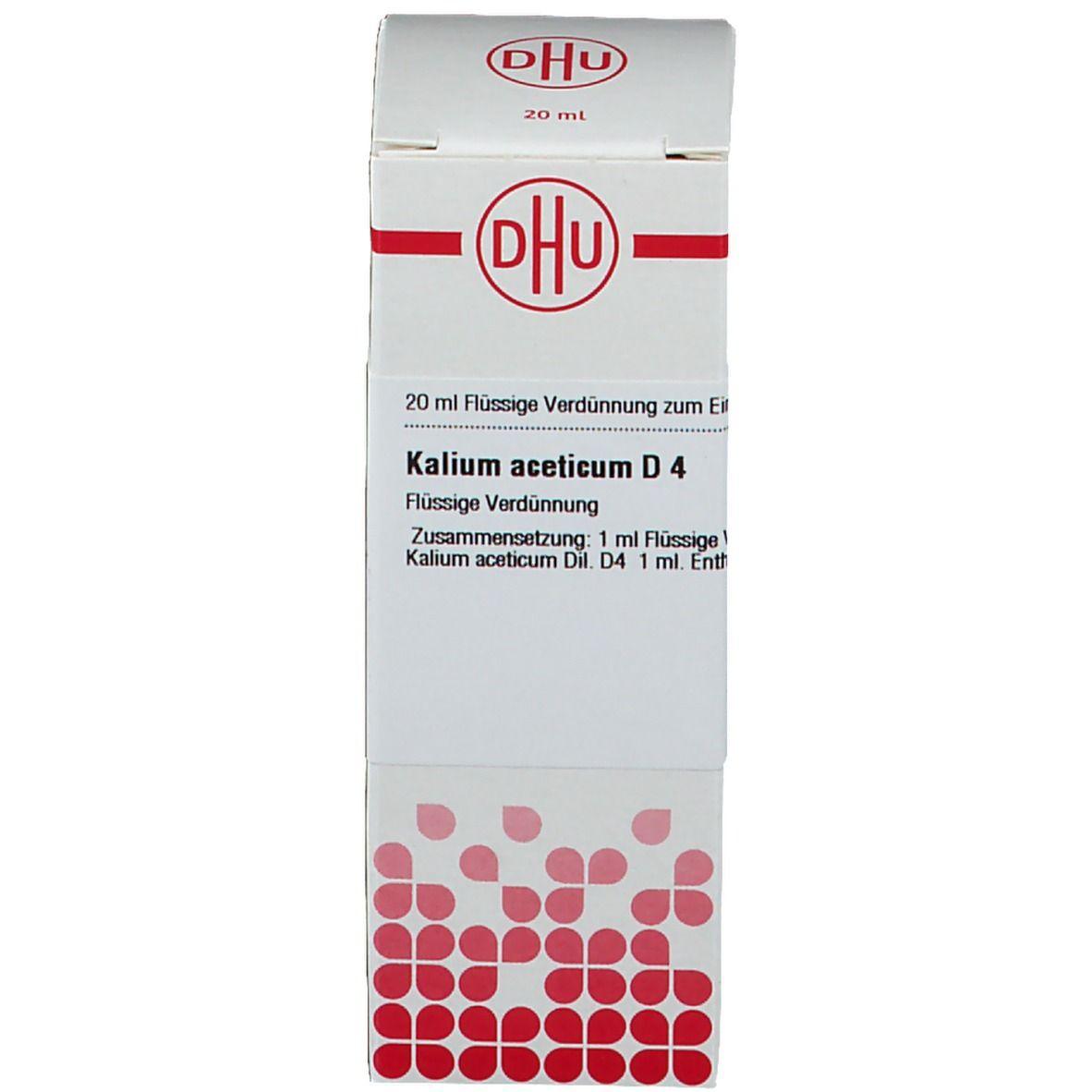 DHU Kalium Aceticum D4