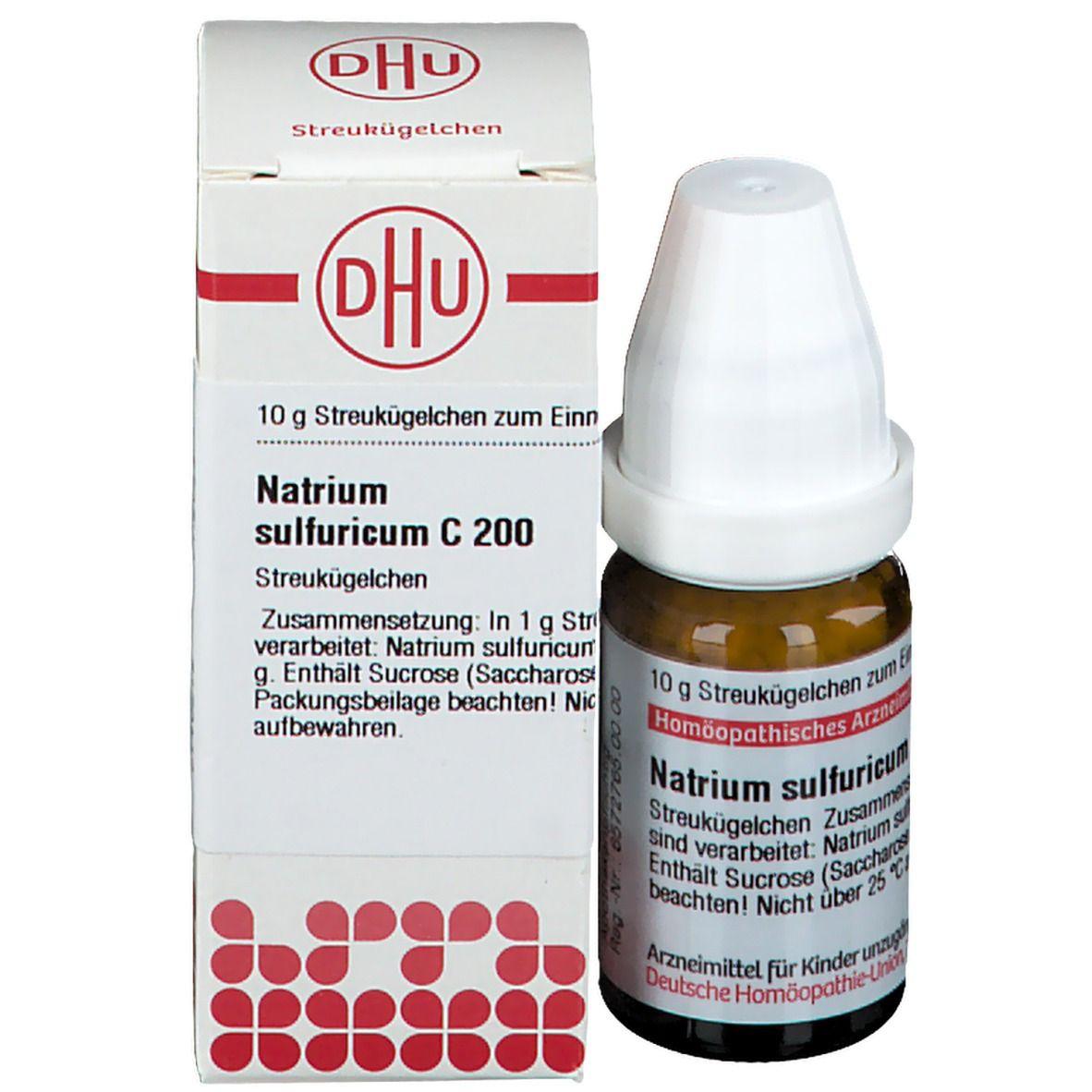 DHU Natrium Sulfuricum C200