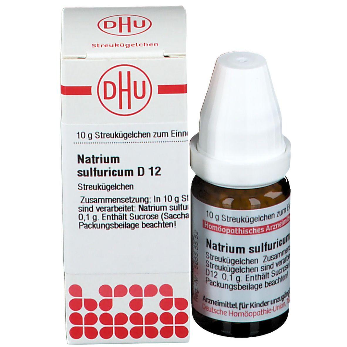 DHU Natrium Sulfuricum D12