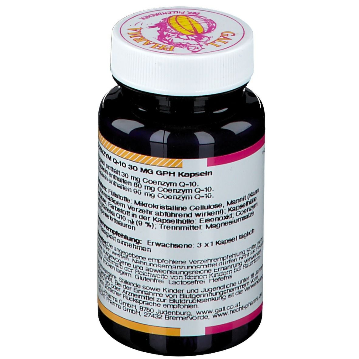 GALL PHARMA Coenzym Q-10 30 mg GPH Kapseln