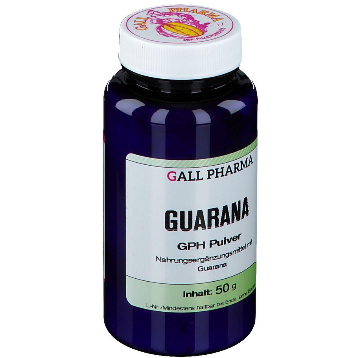 GALL PHARMA Guarana Pulver