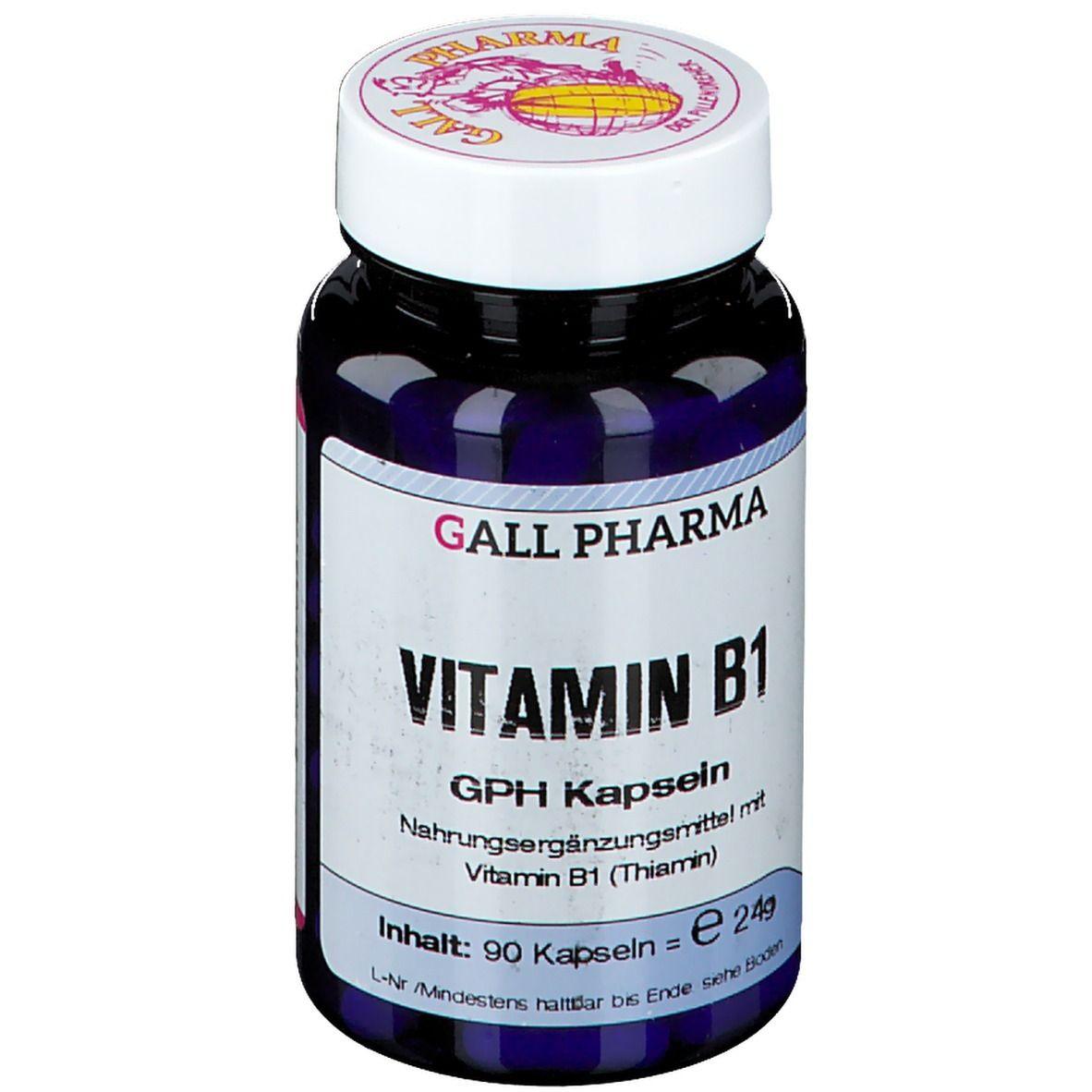 GALL PHARMA Vitamin B1 1,4 mg GPH