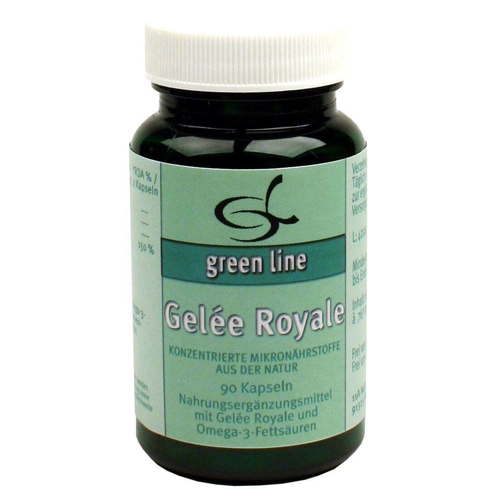 green line Gelée Royal