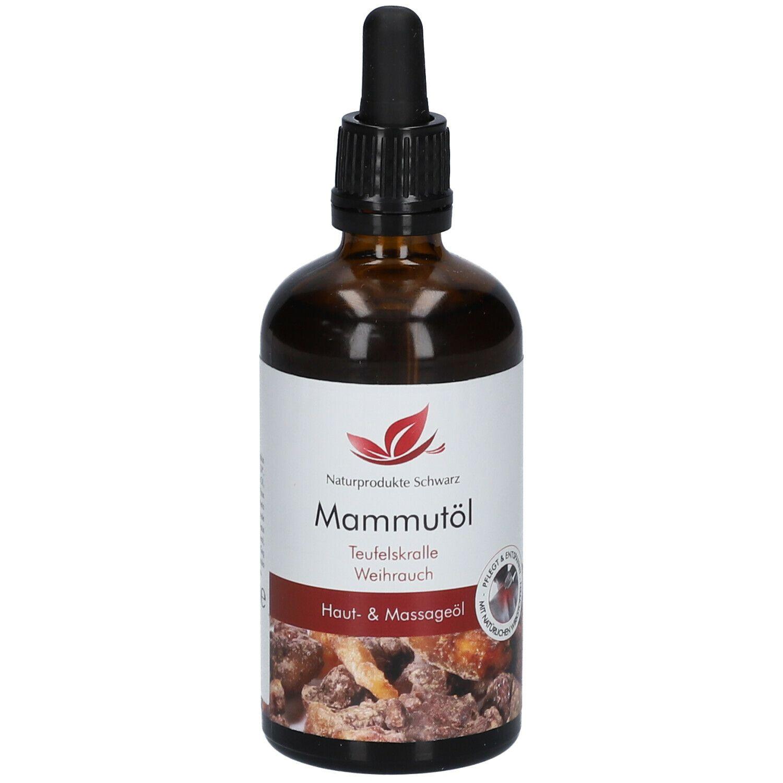 Mammutöl - Massageöl mit Teufelskralle und Weihrauch