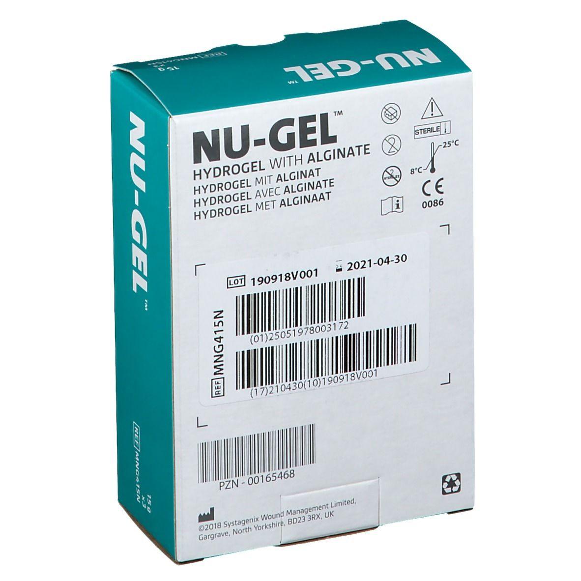 NU-GEL Hydrogel mit Alginat