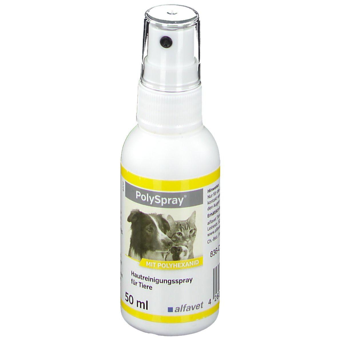 Polyspray® für Hunde, Katzen, Nager und Reptilien