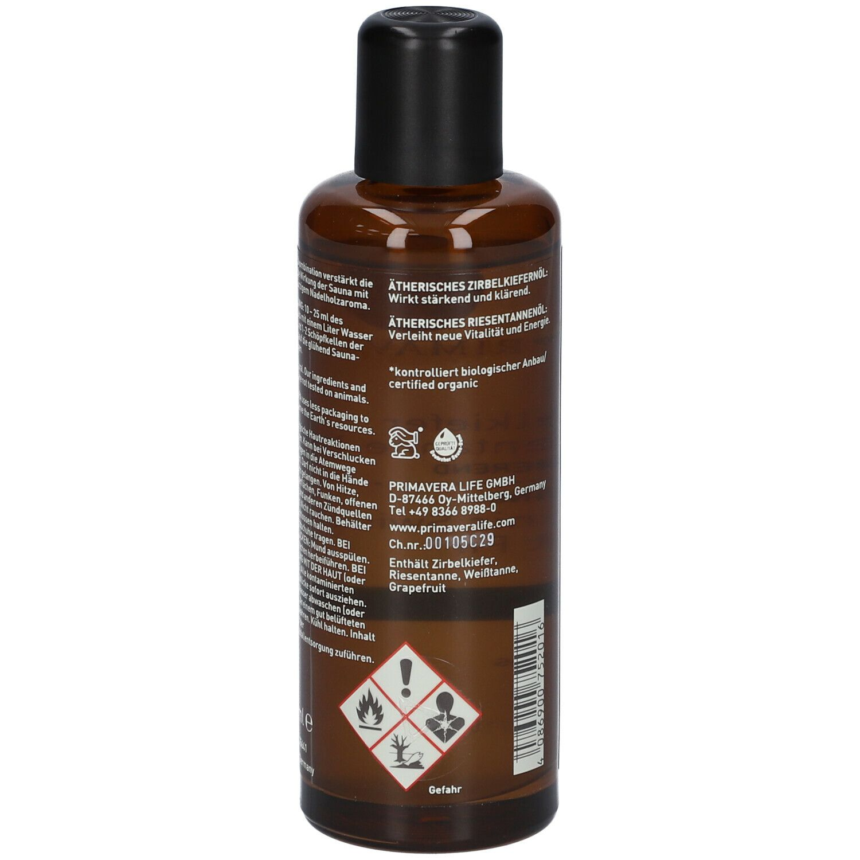 PRIMAVERA® Aroma Sauna Zirbelkiefer Riesentanne BIO