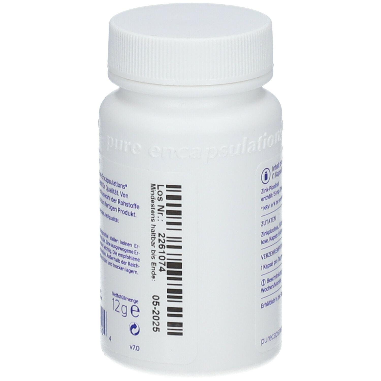 pure encapsulations® Zink 15 (Zinkpicolinat)