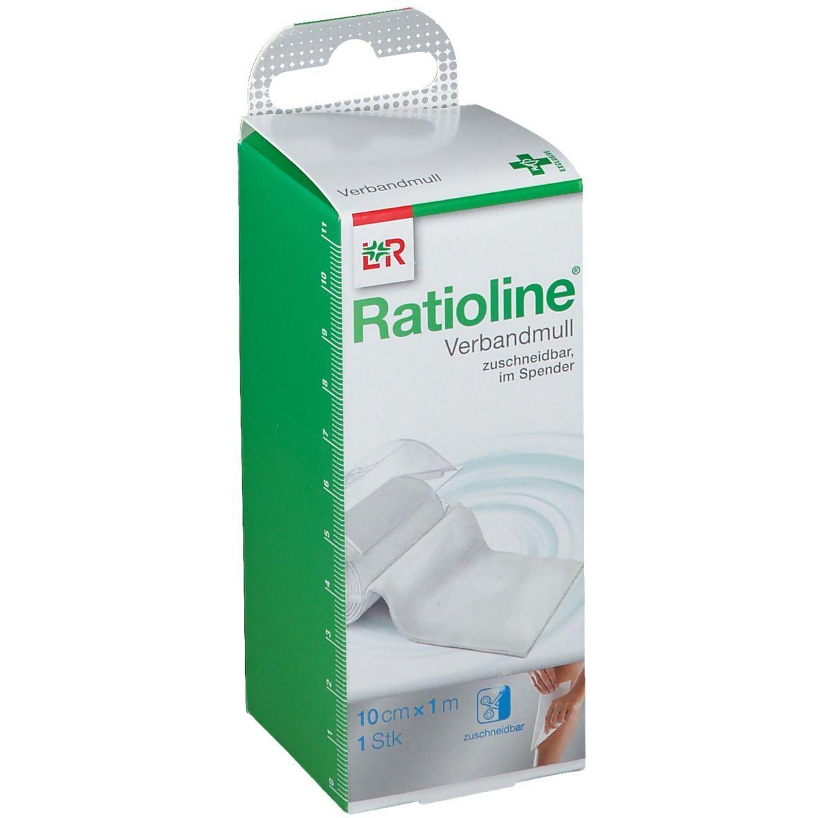 Ratioline® acute Verbandmull 10 cm x 1 m