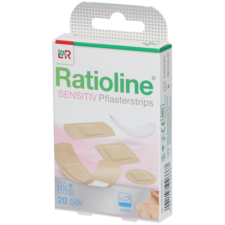 Ratioline® sensitive Pflaster Strips 4 Grössen