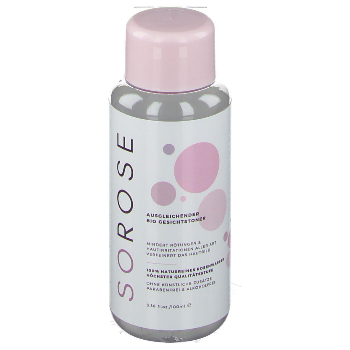 SO! ROSE Rosenwasser Gesichtswasser