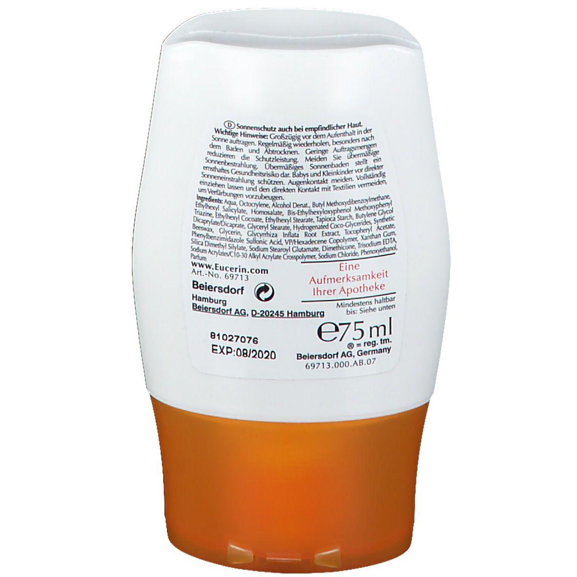T. Eucerin Sensitive Protect Sun Lotion LSF 30