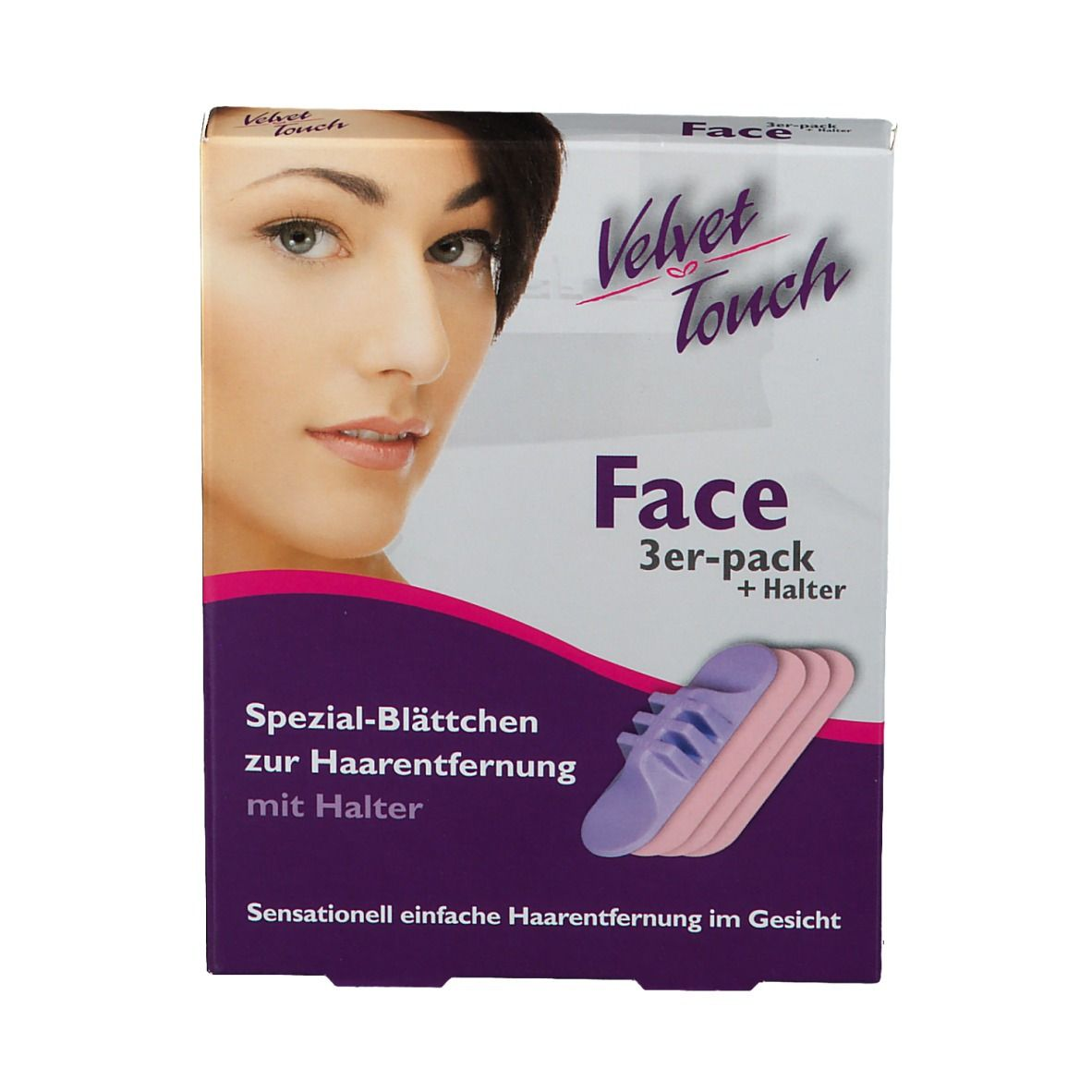 Velvet Touch Face 3er Set