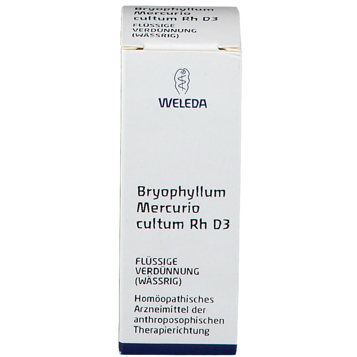 Weleda Bryophyllum Mercurio Cultum Rh D3 Dilution