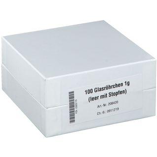 DHU Glasröhrchen für die Taschenapotheke