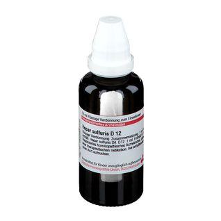 DHU Hepar Sulfuris D12