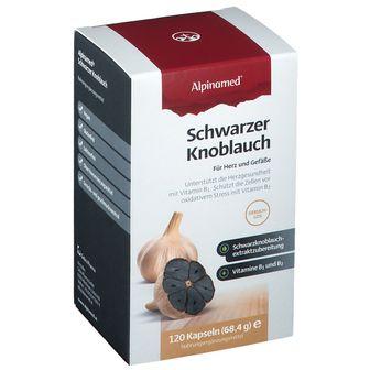 Alpinamed schwarzer Knoblauch Kapseln