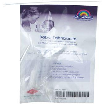 Baby-Frank® Baby Zahnbürste aus Silikon