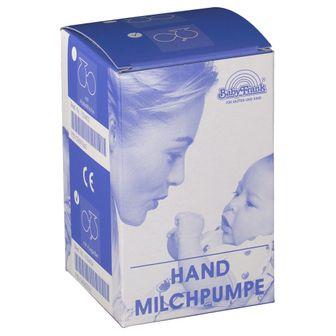 Baby-Frank® Hand Milchpumpe aus Glas