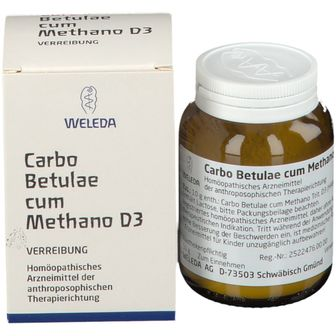 Carbo Betulae c. Methano D3 Trituration